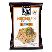Food Should Taste Good Organic Multigrain Tortilla Chips