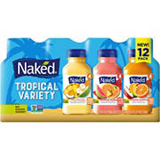 Naked Tropical Juice Smoothies Variety Pack, 12 ct.