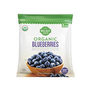 Wellsley Farms Organic Blueberries, 3 lbs.