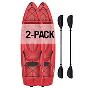 Lifetime Hydros 85 Sit-On-Top Kayak with Paddles, 2 pk.