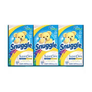 Snuggle Lilies and Linen SuperCare Fabric Softener Dryer Sheets, 315 ct.