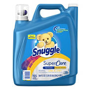 Snuggle Lilies and Linen SuperCare Liquid Fabric Softener, 164 oz.