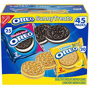 Oreo Sunny Treats Variety Pack, 45 ct.