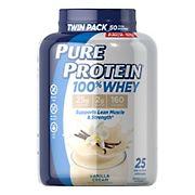Pure Protein 100% Whey Vanilla Cream, 2 ct.