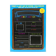 Excello First Day and Last Day School Chalkboard