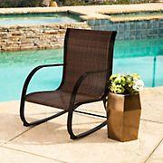 Abbyson Living Hamptons Outdoor Rocking Chair - Espresso