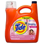 Tide with Downy April Fresh Ultra Concentrated Liquid Laundry Detergent, 165 fl. oz.