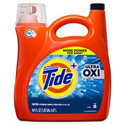 Tide Ultra Oxi Liquid Laundry Detergent, 165 fl. oz.