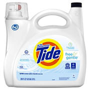 Tide Free and Gentle Liquid Laundry Detergent, 208 fl. Oz.