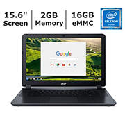 Acer Chromebook 15 CB3-532-C864, Intel Celeron N3060 Dual-Core Processor, 2GB Memory, 16MB eMMC