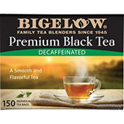 Bigelow Decaffeinated Premium Black Tea, 150 ct.