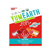 Yum Earth OG Assorted Fruit Pops, 100 ct.
