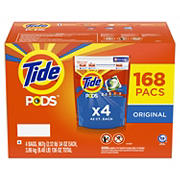 Tide Pods Original Scent Detergent Pacs, 168 ct.