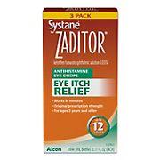Systane Zaditor Eye Drops, 3 pk.