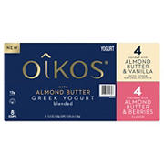 Oikos Almond Butter Greek Yogurt Variety Pack, 8 ct.