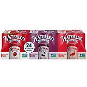 Waterloo Sparkling Water Variety Pack, 24 pk./12 oz.