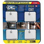 Sensor Brite Motion Activated LED Night Light, 4 pk.