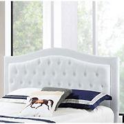 Abbyson Living Jamie Tufted King/California King-Size Headboard - Ivory