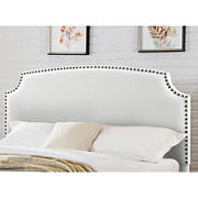 Abbyson Living Edina Fabric Full/Queen-Size Headboard - Ivory