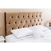 Abbyson Living Catriona Velvet Full/Queen-Size Headboard - Gold