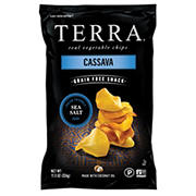 Terra Cassava Sea Salt Chips, 11.5 oz.