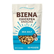 Biena Sea Salt Chickpea Snacks, 24 oz.