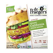 Dr. Praeger's Purely Sensible Foods Organic California Veggie Burger, 12 ct./3.5 oz.