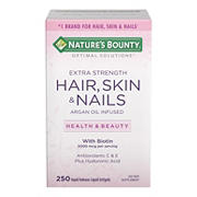 Nature's Bounty Hair, Skin and Nails Extra Strength Vitamins, 250 ct.
