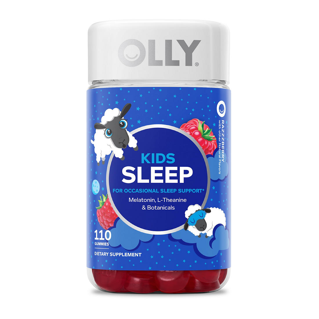 Olly Kids Sleep Gummies 110 Ct Bjs Wholesale Club