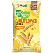 Real Food From The Ground Up Cauliflower Cheddar Stalks, 10 oz.