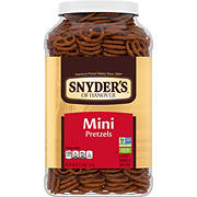 Snyder's of Hanover Mini's Pretzel Canister, 40 oz.
