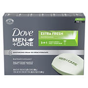 Dove Men + Care Extra Fresh Bar Soap, 14 ct.