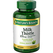 Nature's Bounty Milk Thistle Vitamins, 200 ct.