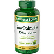 Nature's Bounty Saw Palmetto, 400 ct.