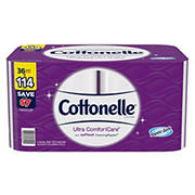 Cottonelle Ultra ComfortCare Giant Roll Toilet Paper, 36 ct.