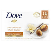 Dove Purely Pampering Beauty Bar, 16 ct.