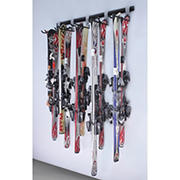 SafeRacks Ski Storage Wall Rail