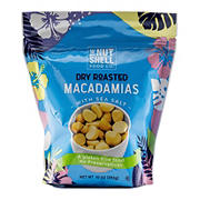 The Nut Shell Food Co. Dry Roasted Salted Macadamia, 10 oz.