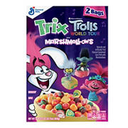 Trix Trolls World Tour Breakfast Cereal, 2 pk.