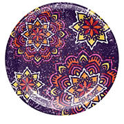 "Artstyle ""Magnificent Medallion"" 7"" Performa Paper Dessert Plates, 75 ct."