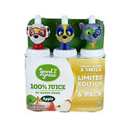 good2grow 100% Apple Juice Collectors Pack, 6 pk./6 oz.
