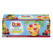 Dole Cherry Mixed Fruit Bowls, 16 pk./4 oz.