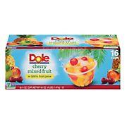 Dole Cherry Mixed Fruit Bowls, 16 pk./4 oz.