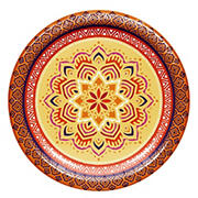 "Artstyle ""Magnificent Medallion"" 10"" Performa Paper Plates, 40 ct."