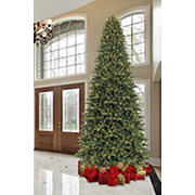 Sylvania 12' 8-Function Color Changing Prelit LED Tree with Foot Pedal