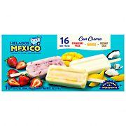 Helados Mexico Fruit and Cream Paletas Variety Box, 16 ct.