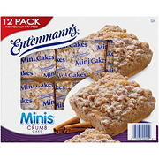 Entenmanns Mini Crumb Cake, 12 ct.
