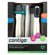 Contigo Stainless Steel Water Bottle and Travel Mug