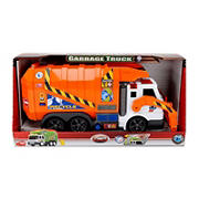 Dickie Toys Light + Sound Action Series Vehicle - Garbage Truck