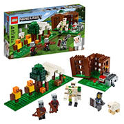 LEGO Building Kit - Minecraft The Pillager Outpost 21159